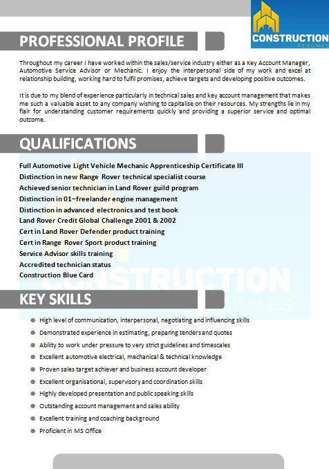 skilled trade resume 016